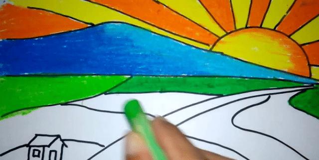 Menuangkan Kreatifitas Dalam Sebuah Lukisan