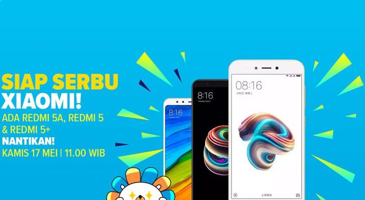 Flash Sale Xiaomi Redmi 5A 17 Mei 2018