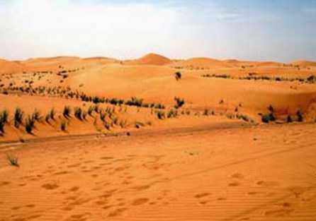 Rub Al'Khali, Semenanjung Arab