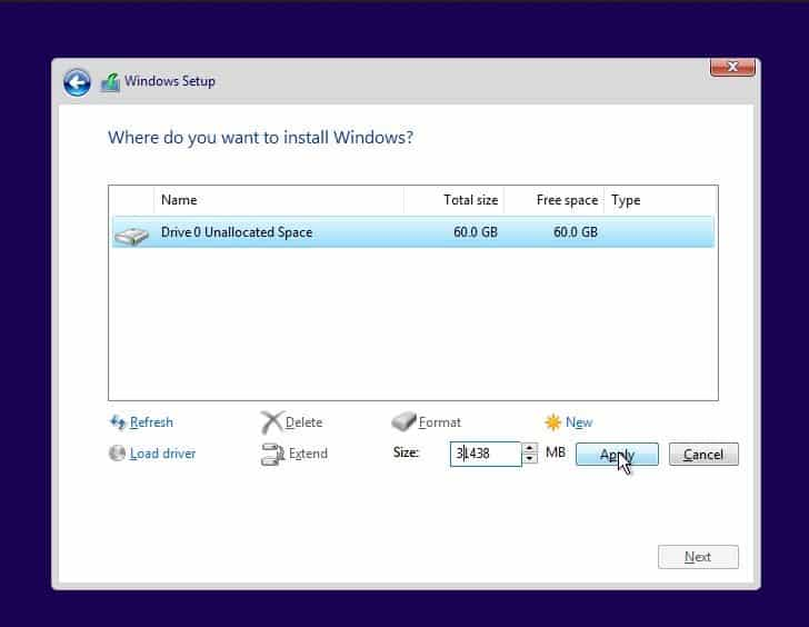 Cara Instal Ulang Windows 10 Step 11