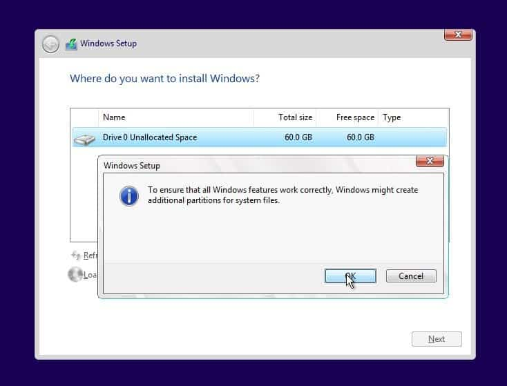 Cara Instal Ulang Windows 10 Step 12