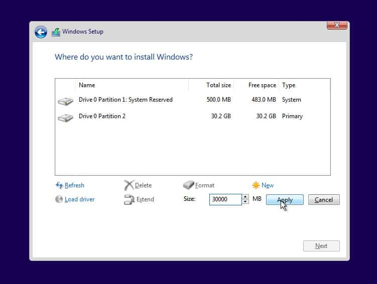 Cara Instal Ulang Windows 10 Step 13