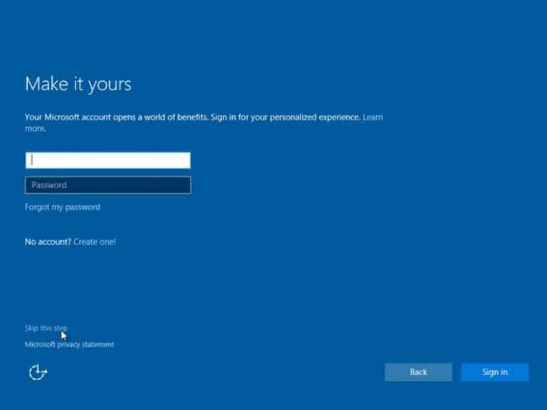 Cara Instal Ulang Windows 10 Step 15
