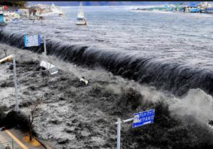 Ketinggian Gelombang Tsunami